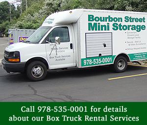 Truck Rental - Peabody, MA - Bourbon Street Mini Storage